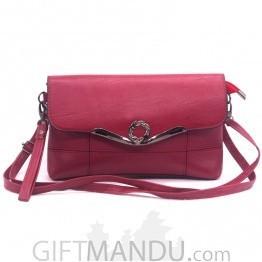 Elegance Ladies Side Bag - Red