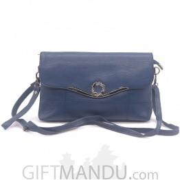 Elegance Ladies Side Bag - Blue