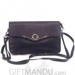 Beautiful Ladies Side Bag - Black