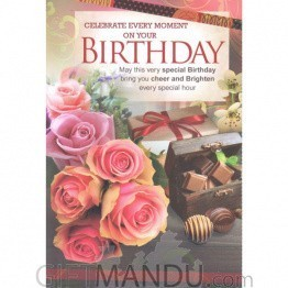 Birthday - Greeting Card
