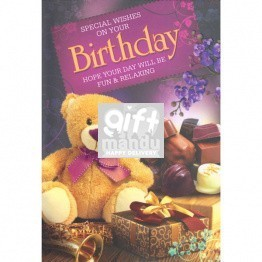 Special Wishes on Your Birthday - Greeting Card