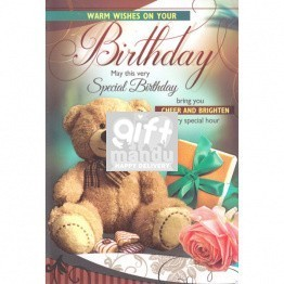 Warm Wishes on Your Birthday - Greeting Card