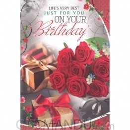 Just For You on Your Birthday - Greeting Card