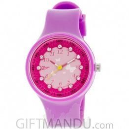 Titan Zoop Pink Dial Analog Watch for Kids (C3025PP03)