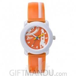 Titan Zoop Orange Dial Analog Watch for Kids (C3025PP29)