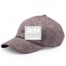 Camo Pattern Summer Cap For Men - Grey