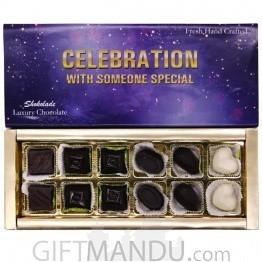 Celebration with Someone Special Assorted Luxury Chocolate Box by Shokolade