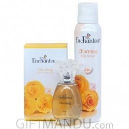 Enchanteur Charming Deo Spray & Perfume Set