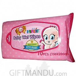 Farlin Baby Wet Wipes 10Pcs (DT-004A) - Send gifts to Nepal