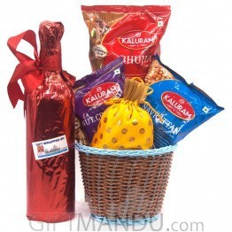 Great Celebrations Combo Basket For Festive Season - 5 Items