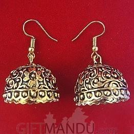 Traditional Pinjara Style Jhumka