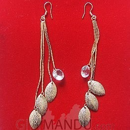 Long Chain Jhumka Earring