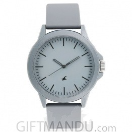 Fastrack Analog Stainless Steel Watch For Men