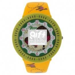 Titan Zoop Yellow Dial Analog Watch for Girls - C26007PP03