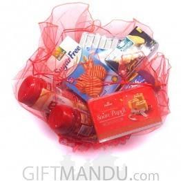 Healthy Goodies Decorative Basket