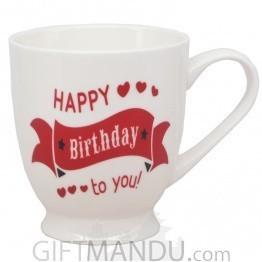 Large Size Happy Birthday To You Mug