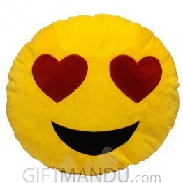 Smiling Face With Heart Eyes~ Emoji (13 inch)