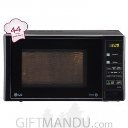 LG Microwave 20L Solo with Glass Door (MS2043DB)