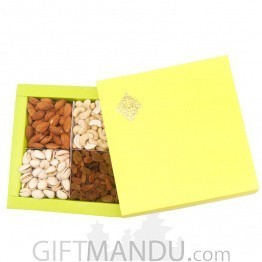Assorted Dry Nuts in Beautiful box- 100gm