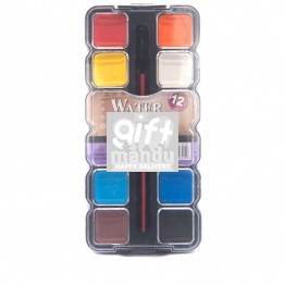 Water Color Paint Set - 12 Shades
