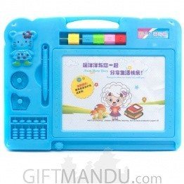 Magnetic Drawing Board For Kids (Blue)