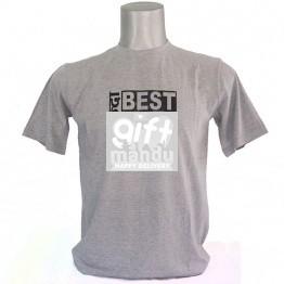 Sabai Bhanda Best BRO Ever Tshirt - Gray (Medium, Large, XLarge - Round Neck)