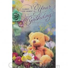Celebrate Every Moment On Your Birthday - Greeting Card