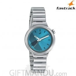 Fastrack Blue Dial Analog Women's Watch (6149SM01)