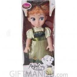 Happy Angel Baby Friend Cute Doll (Green Dress)