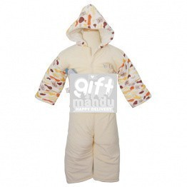 Jacket and Trouser Set For Babies (yellow)