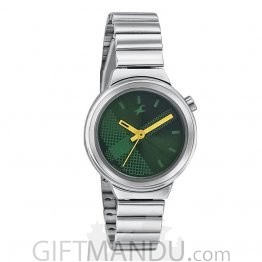 Fastrack Green Dial Analog Women's Watch (6149SM02)