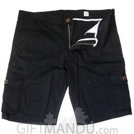 Summer Cotton Half Box Pant (Black)