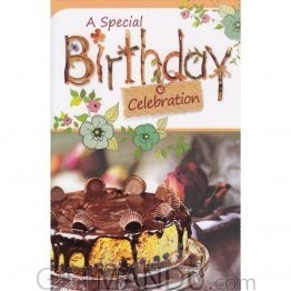 A Special Birthday Celebration - Greeting Card