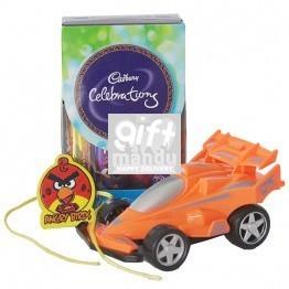 Kids Rakhi with Cadbury Celebrations Box and Toy