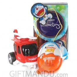 Kids Rakhi with Chocolates and Helicopter Toy