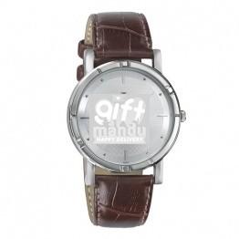 Titan Karishma Analog Silver Dial Men's Watch -(1639SL01)