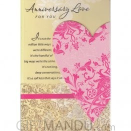 Anniversary Love For You - Greeting Card