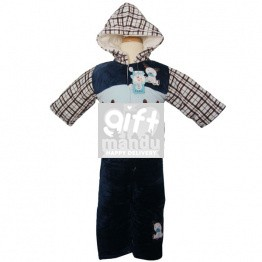 Jacket and Trouser Set For kids (Blue)