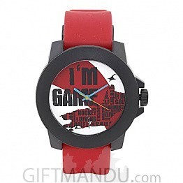 Fastrack Multi Color Dial Red Analog Watch for Men (38021PP12)