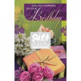 Wish You Happiness On Your Birthday - Greeting Card