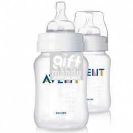 Philips Avent SCF683/27 Feeding 2 x Bottles 260ml (1+ Month)