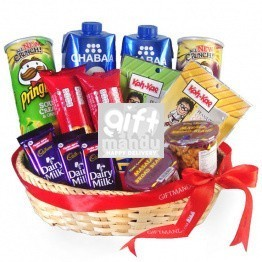 Double Pack Gift Basket For Special Festival