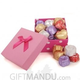 Handmade Gourmet Chocolates In Beautiful Gift Box