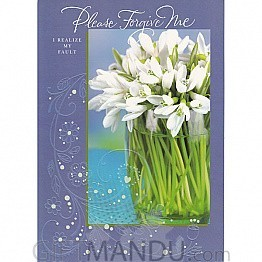Please Forgive Me - Greeting Card