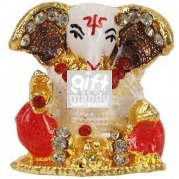Beautiful Mini Ganesh Ji Metal Statue