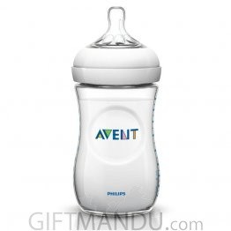 Philips Avent Natural Baby Bottle PP 260ML (SCF693/17) (1+ Month)