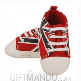 Cute Red Converse Shoe For Boy (9-12 months)