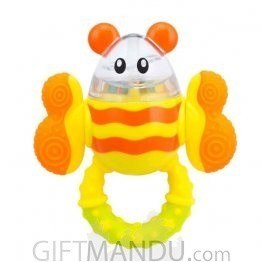 Kidsme Twist Eggie Bee Rattle (BF-9587)