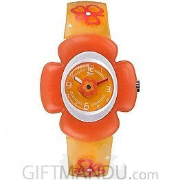 Titan Zoop Orange Dial Analog Watch for Kids (C4008PP02)