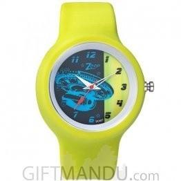 Titan Zoop Black Dial Analog Watch for Kids (C3029PP08)